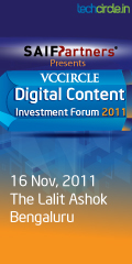VCCircle Content Summit - Bangalore - Nov 16 2011